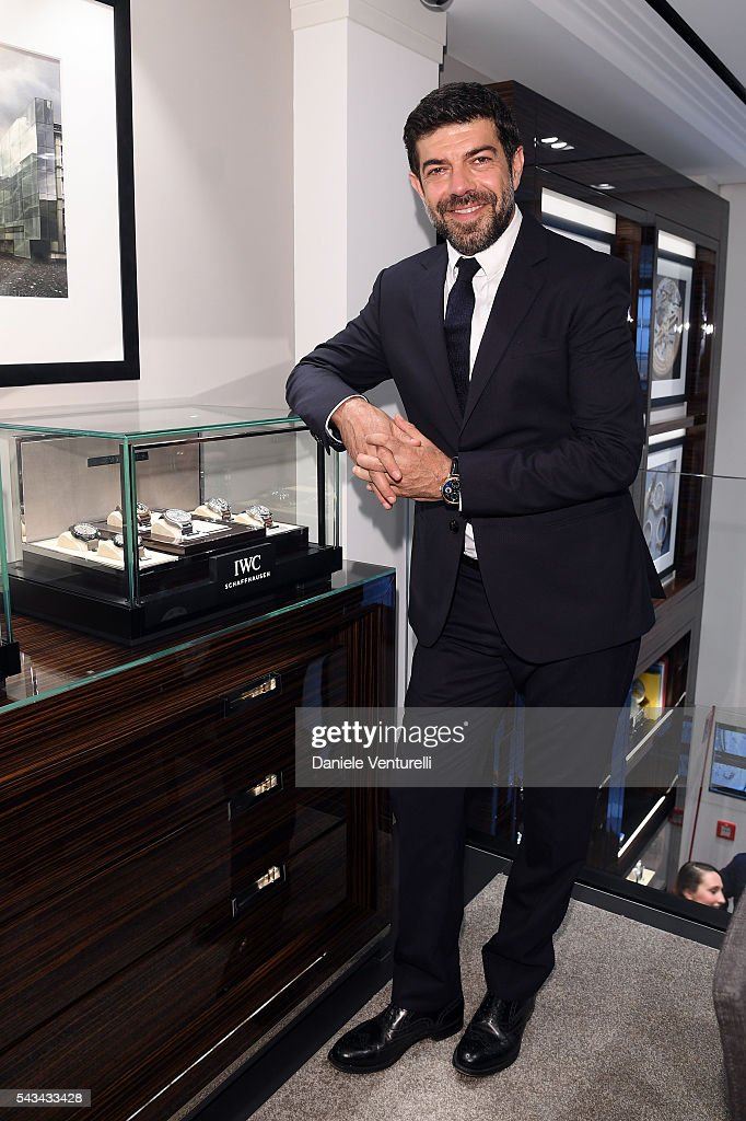 Actor <a gi-track='captionPersonalityLinkClicked' href=/galleries/search?phrase=Pierfrancesco+Favino&family=editorial&specificpeople=676710 ng-click='$event.stopPropagation()'>Pierfrancesco Favino</a> attends IWC Boutique Opening Event on June 28, 2016 in Milan, Italy.