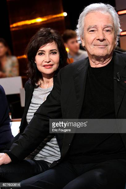 Actor Pierre Arditi et Evelyne Bouix Photographed in PARIS