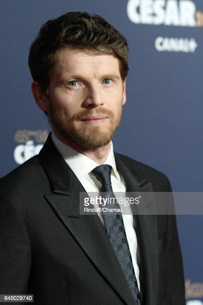 Actor Pierre Deladonchamps arrives at the Cesar Film Awards Ceremony at Salle Pleyel on February 24 2017 in Paris France