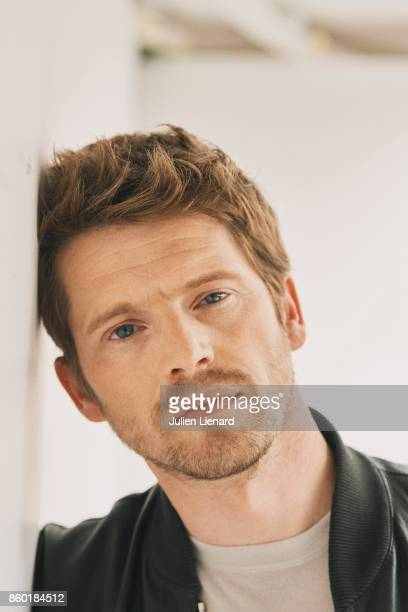 Actor Pierre Deladonchamps is photographed for Self Assignment on May 22 2017 in Cannes France