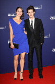 Actor Pierre Niney and his girlfriend attend the 37th Cesar Film Awards at Theatre du Chatelet on February 24 2012 in Paris France