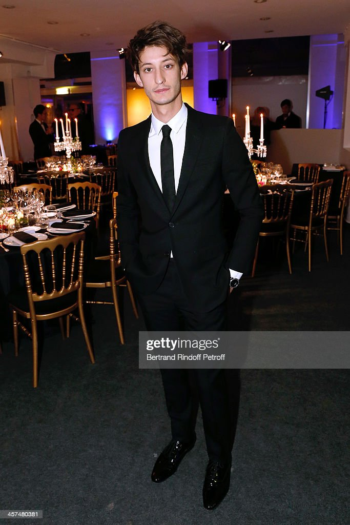 Actor <a gi-track='captionPersonalityLinkClicked' href=/galleries/search?phrase=Pierre+Niney&family=editorial&specificpeople=8306328 ng-click='$event.stopPropagation()'>Pierre Niney</a> attends the Annual Charity Dinner hosted by the AEM Association Children of the World for Rwanda on December 17, 2013. Held at Espace Pierre Cardin in Paris, France.