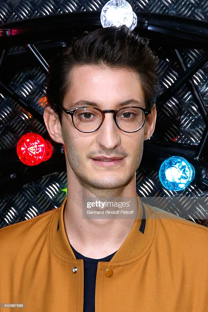 Actor Pierre Niney attends the Dior Homme Menswear Spring/Summer 2017 show as part of Paris Fashion Week on June 25, 2016 in Paris, France.