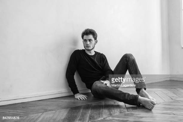 Actor Pierre Prieur is photographed for Self Assignment on July 17 2017 in Paris France