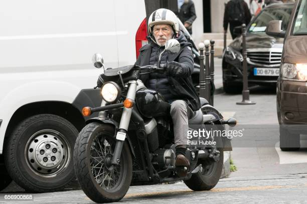 Actor Pierre Richard is seen on March 23 2017 in Paris France
