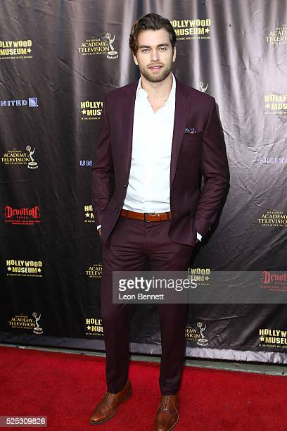 Actor Pierson Fod attends the 2016 Daytime Emmy Awards Nominees Reception Arrivals at The Hollywood Museum on April 27 2016 in Hollywood California
