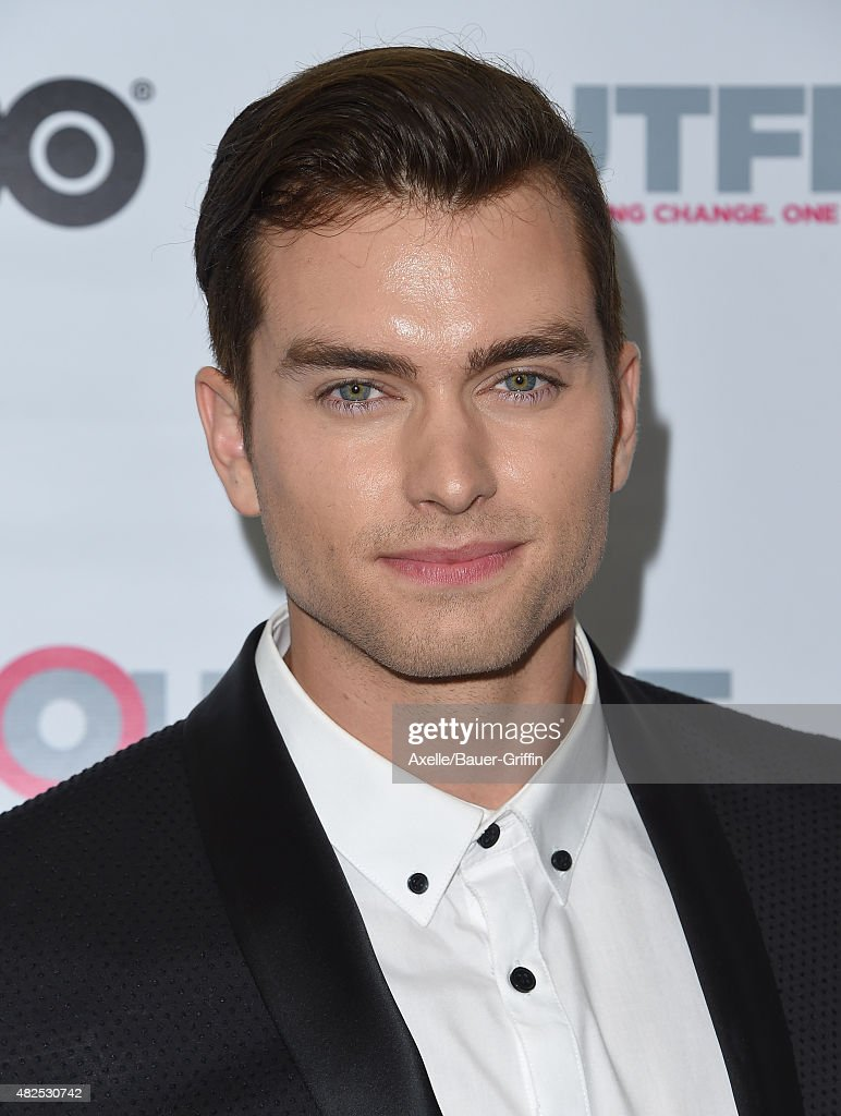 Actor Pierson Fode arrives at the premiere of 20th Century Fox's 'Naomi and Ely's No Kiss List' at 2015 Outfest's LGBT Los Angeles Film Festival at...
