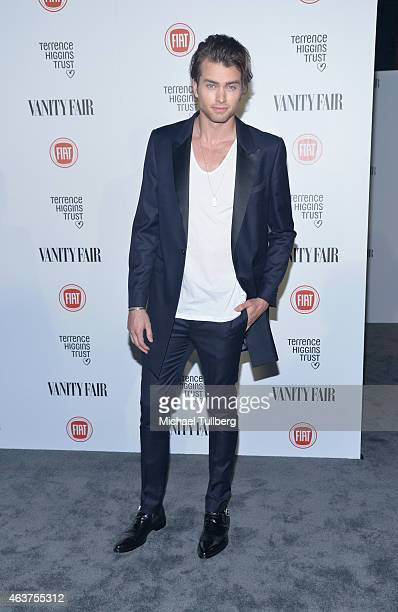 Actor Pierson Fode attends the Vanity Fair And Fiat Toast To 'Young Hollywood' in support of the Terrence Higgins Trust at No Vacancy on February 17...