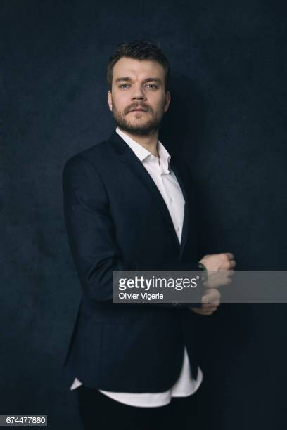 Actor Pilou Asbæk is photographed on March 21 2017 in Paris France