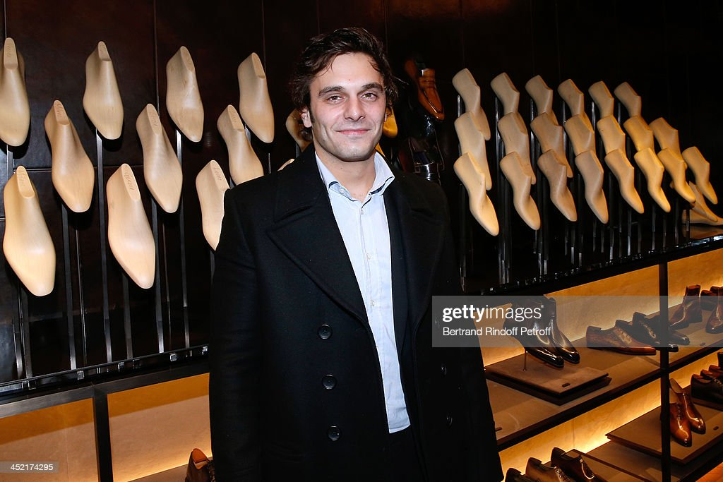 Actor <a gi-track='captionPersonalityLinkClicked' href=/galleries/search?phrase=Pio+Marmai&family=editorial&specificpeople=5672402 ng-click='$event.stopPropagation()'>Pio Marmai</a> attends Berluti Flagship Store Opening on November 26, 2013 in Paris, France.
