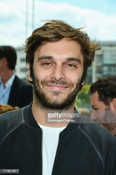 Actor Pio Marmai attends the Louis Vuitton Menswear Spring/Summer 2014 show as part of the Paris Fashion Week on June 27 2013 in Paris France