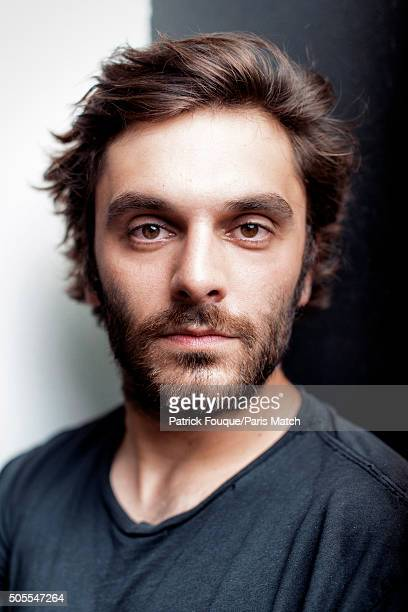 Actor Pio Marmai is photographed for Paris Match on July 25 2013 in Paris France