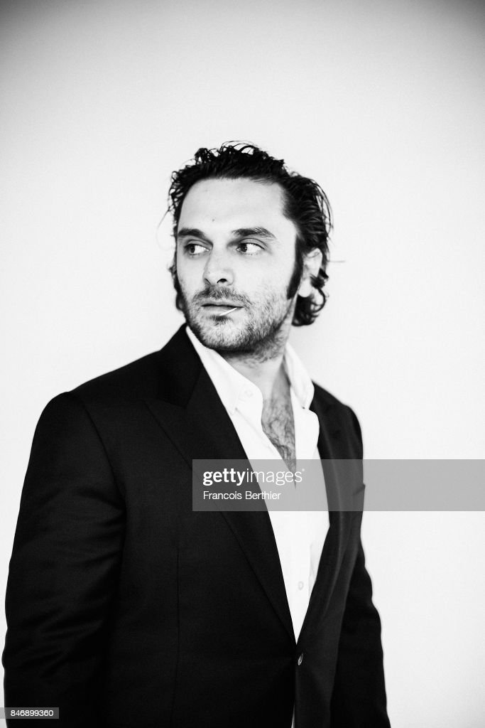 Actor Pio Marmai is photographed on September 9, 2017 in Deauville, France.