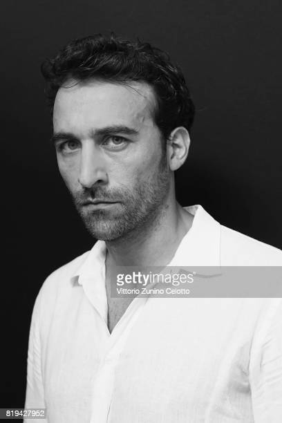 Actor Pio Stellaccio poses for a portrait session during Giffoni Film Festival on July 20 2017 in Giffoni Valle Piana Italy