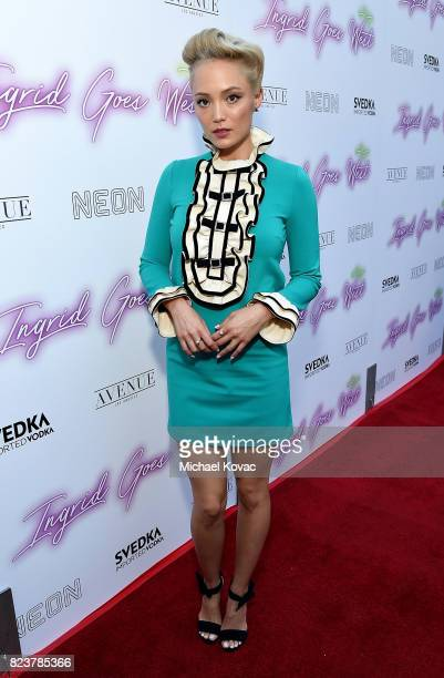 Actor Pom Klementieff attends the Los Angeles Premiere of 'Ingrid Goes West' presented by SVEDKA Vodka and Avenue Los Angeles at ArcLight Cinemas on...