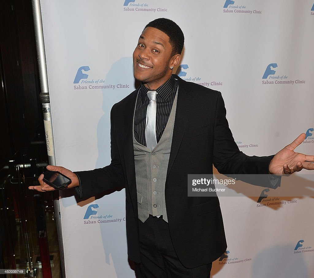 Actor <a gi-track='captionPersonalityLinkClicked' href=/galleries/search?phrase=Pooch+Hall&family=editorial&specificpeople=879951 ng-click='$event.stopPropagation()'>Pooch Hall</a> arrives at the 37th Annual Saban Community Clinic Gala at The Beverly Hilton Hotel on November 25, 2013 in Beverly Hills, California.