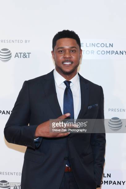 Actor Pooch Hall attends the screening of 'Chuck' during the 2017 Tribeca Film Festival at BMCC Tribeca PAC on April 28 2017 in New York City