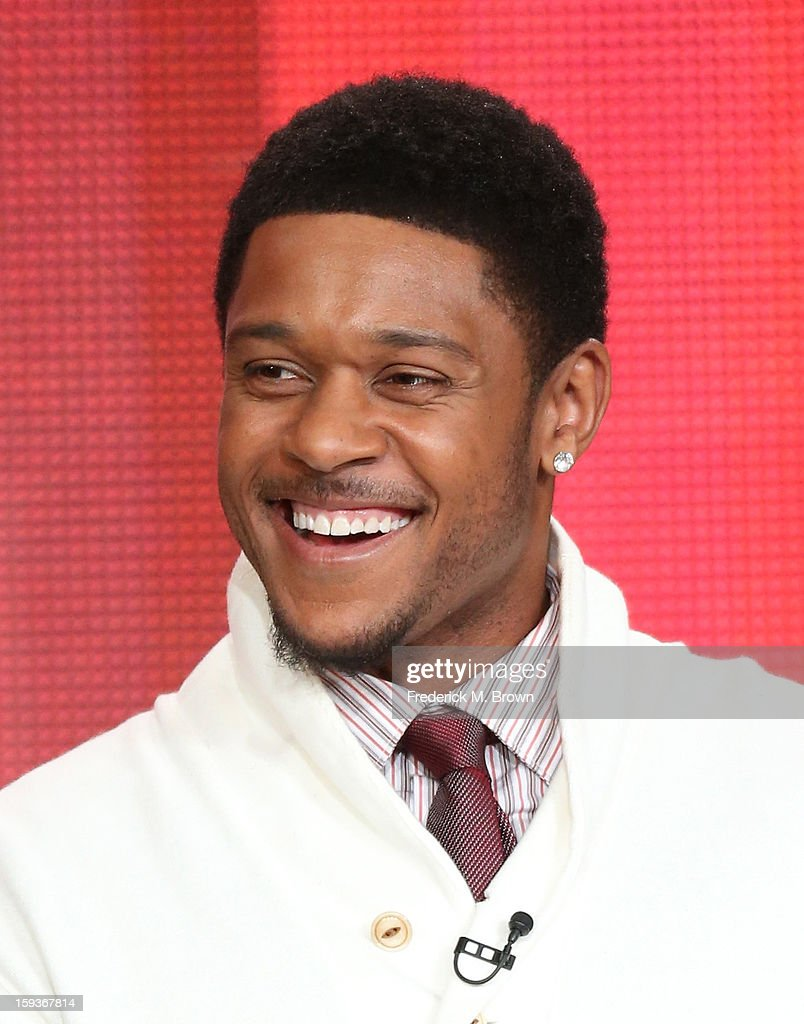 Actor Pooch Hall of 'Ray Donovan' speaks onstage during the Showtime portion of the 2013 Winter TCA Tour at Langham Hotel on January 12, 2013 in Pasadena, California.