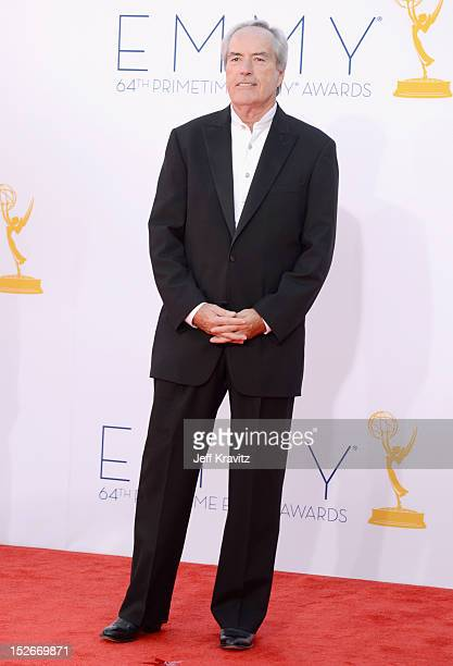 Actor Powers Boothe arrives at the 64th Primetime Emmy Awards at Nokia Theatre LA Live on September 23 2012 in Los Angeles California