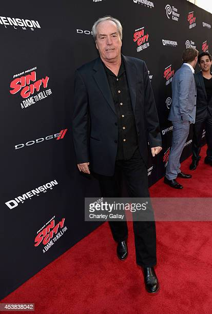 Actor Powers Boothe attends 'SIN CITY A DAME TO KILL FOR' premiere presented by Dimension Films in partnership with Time Warner Cable Dodge and...