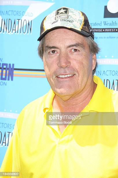 Actor Powers Boothe attends the 2011 SAG Foundation golf classic benefiting catastrophic health fund held at the El Caballero country club on June 13...
