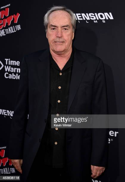 Actor Powers Boothe attends the premiere of Dimension Films' 'Sin City A Dame To Kill For' at TCL Chinese Theatre on August 19 2014 in Hollywood...