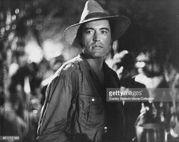 Actor Powers Boothe in a scene from the movie 'The Emerald Forest' 1985