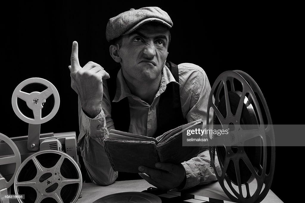 Actor Practicing