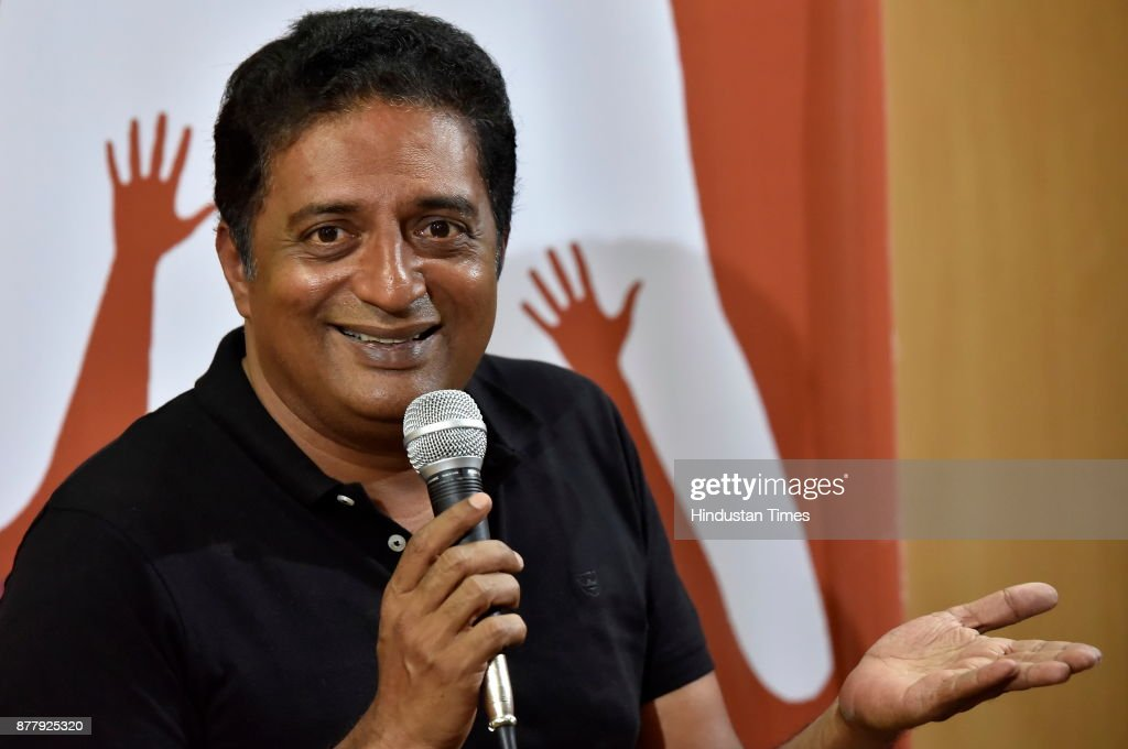 Press Conference Of Actor Prakash Raj