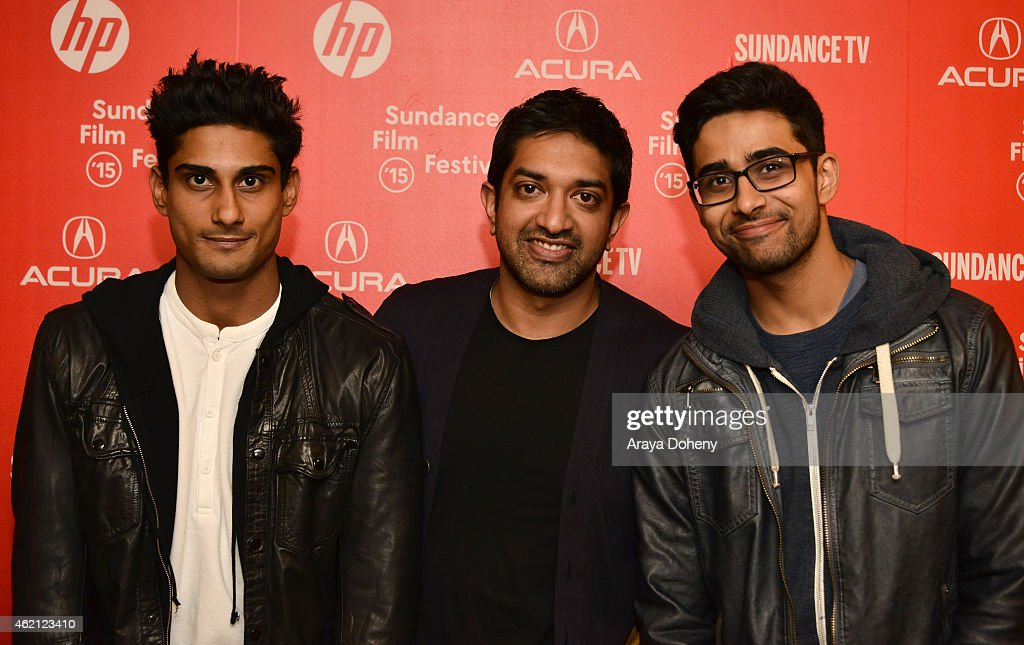 Actor Prateik Babbar, director Prashant Nair and actor <a gi-track='captionPersonalityLinkClicked' href=/galleries/search?phrase=Suraj+Sharma&family=editorial&specificpeople=9768453 ng-click='$event.stopPropagation()'>Suraj Sharma</a> attend the 'Umrika' Premiere during the 2015 Sundance Film Festival on January 24, 2015 in Park City, Utah.
