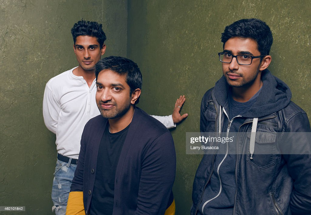Actor Prateik Babbar, director/writer Prashant Nair and actor <a gi-track='captionPersonalityLinkClicked' href=/galleries/search?phrase=Suraj+Sharma&family=editorial&specificpeople=9768453 ng-click='$event.stopPropagation()'>Suraj Sharma</a> from 'Umrika' pose for a portrait at the Village at the Lift Presented by McDonald's McCafe during the 2015 Sundance Film Festival on January 24, 2015 in Park City, Utah.