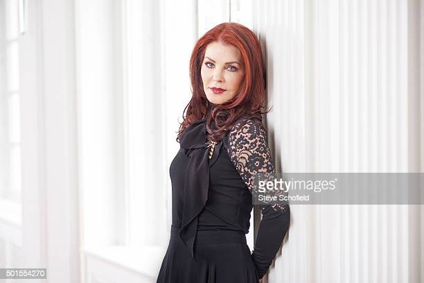 Actor Priscilla Presley is photographed for the Guardian on October 10 2015 in Los Angeles California