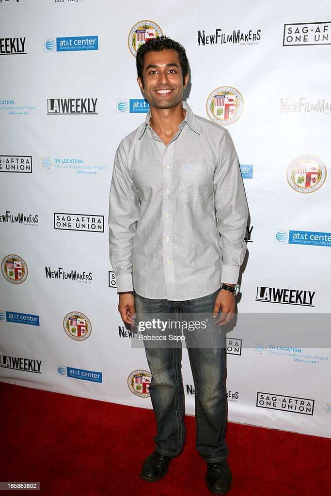 Actor Pritesh Shah arrives at the 3rd Annual On Location: The Los Angeles Video Project 2013 at the AT&T Center on October 19, 2013 in Los Angeles, California.