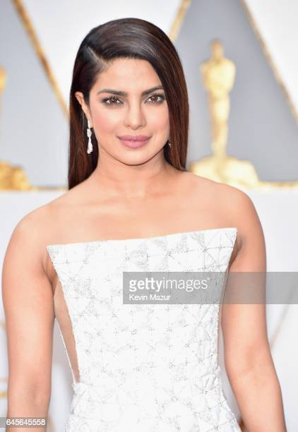 Actor Priyanka Chopra attends the 89th Annual Academy Awards at Hollywood Highland Center on February 26 2017 in Hollywood California