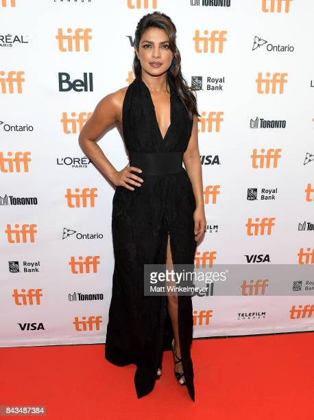 Actor Priyanka Chopra attends the TIFF Soiree during the 2017 Toronto International Film Festival at TIFF Bell Lightbox on September 6 2017 in...