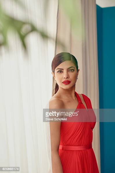 Actor Priyanka Chopra is photographed for Emmy magazine on September 18 2016 in Los Angeles California