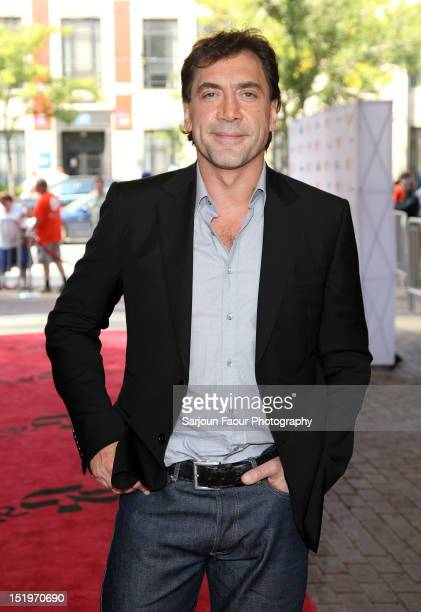 Actor/ Producer Javier Bardem attends the 'Sons Of The Clouds The Last Colony' premiere during the 2012 Toronto International Film Festival at the...