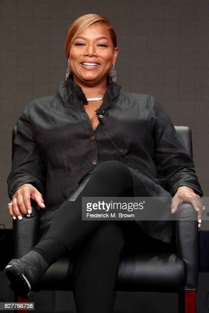 Actor Queen Latifah of 'Star' speaks onstage during the FOX portion of the 2017 Summer Television Critics Association Press Tour at The Beverly...