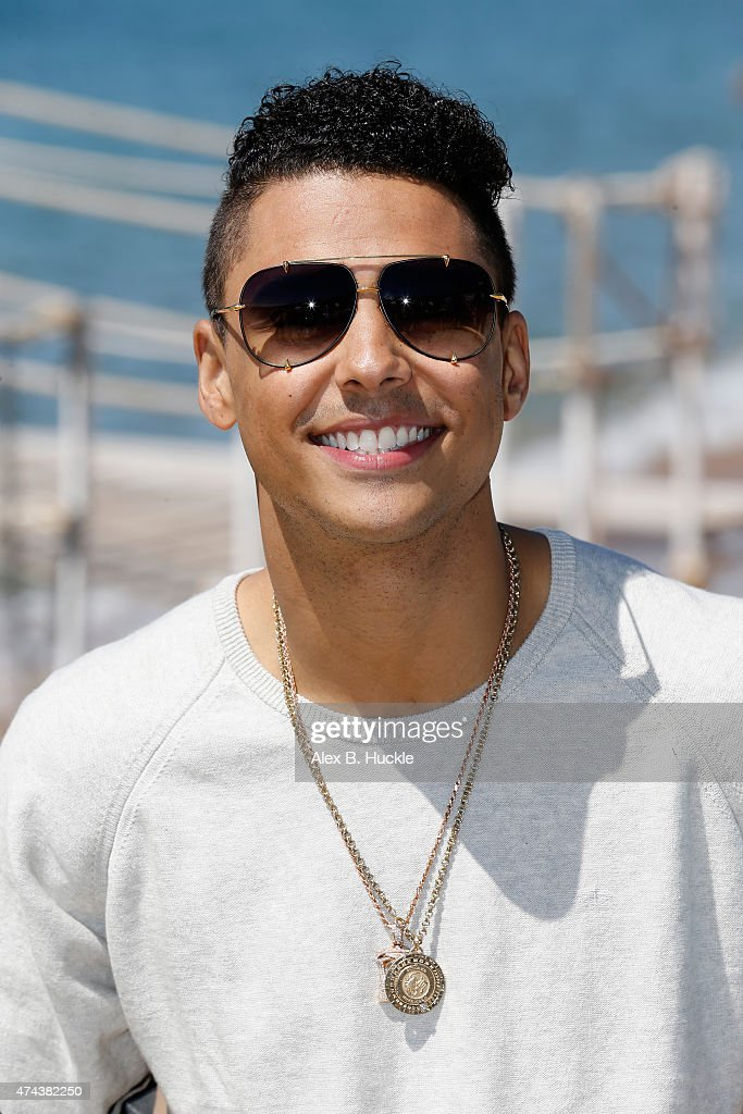 Actor Quincy Brown attends a photocall for 'Dope' during the 68th annual Cannes Film Festival on May 22 2015 in Cannes France