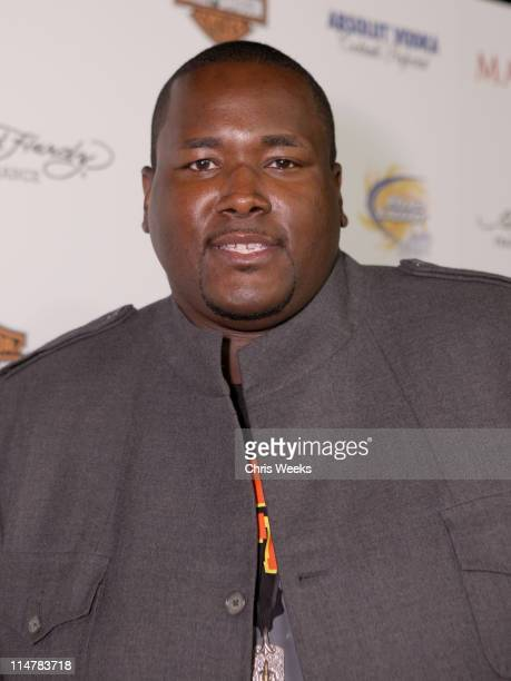 Actor Quinton Aaron arrives at the 11th annual Maxim Hot 100 Party with HarleyDavidson ABSOLUT VODKA Ed Hardy Fragrances and ROGAINE held at...