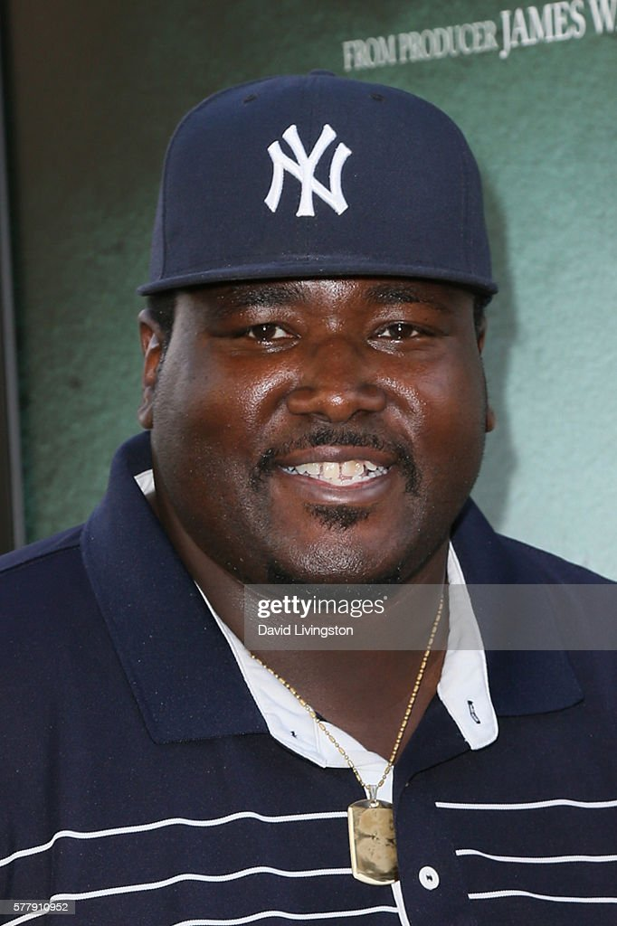 Actor Quinton Aaron arrives at the premiere of New Line Cinema's 'Lights Out' at the TCL Chinese Theatre on July 19 2016 in Hollywood California