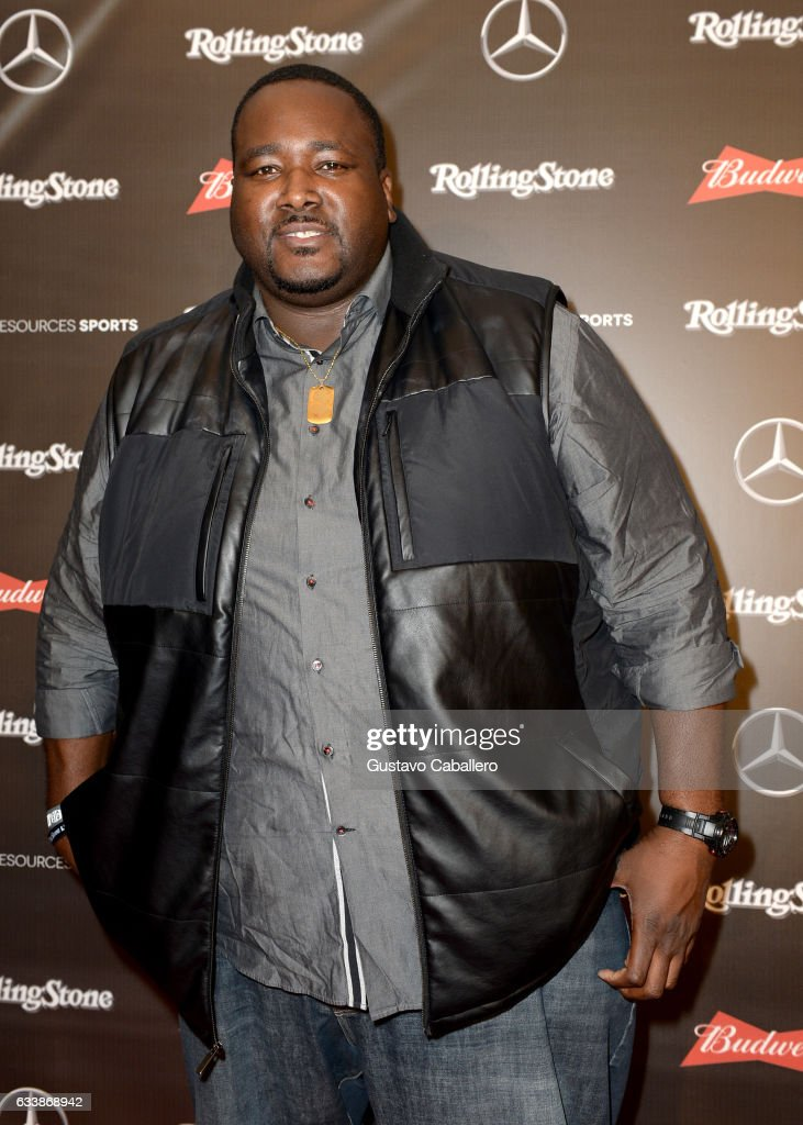 Actor Quinton Aaron at the Rolling Stone Live: Houston presented by Budweiser and Mercedes-Benz on February 4, 2017 in Houston, Texas. Produced in partnership with Talent Resources Sports.