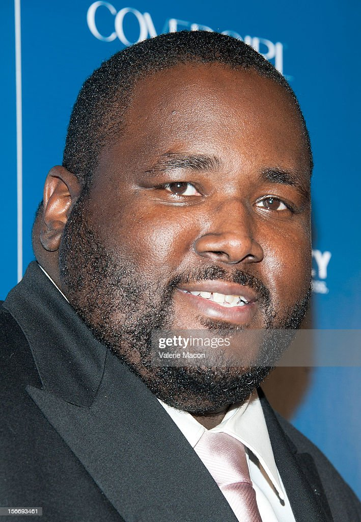 Actor Quinton Aaron attends the US Weekly Music Party at AV Nightclub on November 18, 2012 in Hollywood, California.