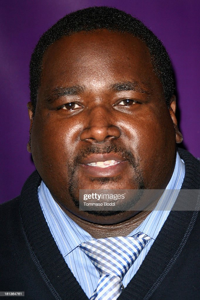 Actor <a gi-track='captionPersonalityLinkClicked' href=/galleries/search?phrase=Quinton+Aaron&family=editorial&specificpeople=6527390 ng-click='$event.stopPropagation()'>Quinton Aaron</a> attends the Wounded Warrior Project style and beauty charity event held at Avalon on September 20, 2013 in Hollywood, California.