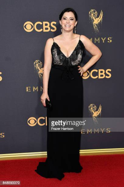 Actor Rachel Bloom attends the 69th Annual Primetime Emmy Awards at Microsoft Theater on September 17 2017 in Los Angeles California