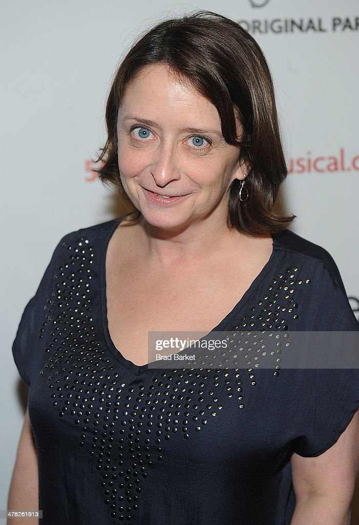Actor <a gi-track='captionPersonalityLinkClicked' href=/galleries/search?phrase=Rachel+Dratch&family=editorial&specificpeople=209387 ng-click='$event.stopPropagation()'>Rachel Dratch</a> attends the '50 Shades! The Musical' Off Broadway opening night at Elektra Theatre on March 12, 2014 in New York City.