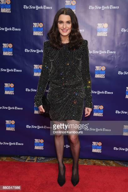 Actor Rachel Weisz attends IFP's 27th Annual Gotham Independent Film Awards on November 27 2017 in New York City