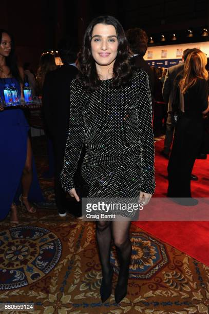 Actor Rachel Weisz attends The 2017 IFP Gotham Awards with Lindt Chocolate on November 27 2017 in New York City