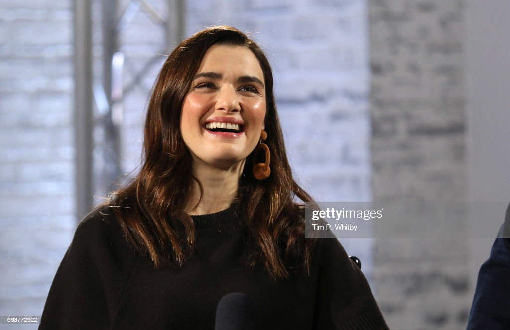Actor Rachel Weisz from the cast of 'My Cousin Rachel' speaking at the Build LDN event at AOL London on June 8, 2017 in London, England.