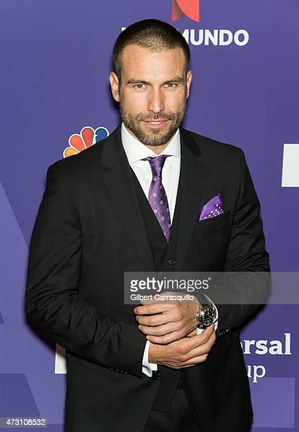 Actor Rafael Amaya attends the 2015 Telemundo And NBC Universo Upfront at Frederick P Rose Hall Jazz at Lincoln Center on May 12 2015 in New York City